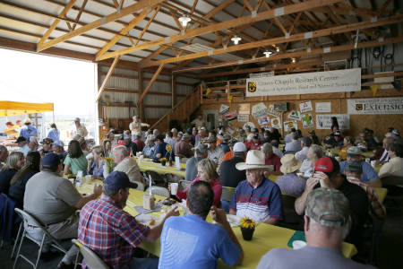 The Graves-Chapple Research Center set an attendance record during last year's Field Day. More than 200 guests attended the event.