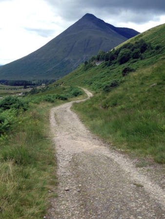 Mike and Stephanie Smith walked 96 miles in northern Scotland in eight days. Photo courtesy of Mike Smith.
