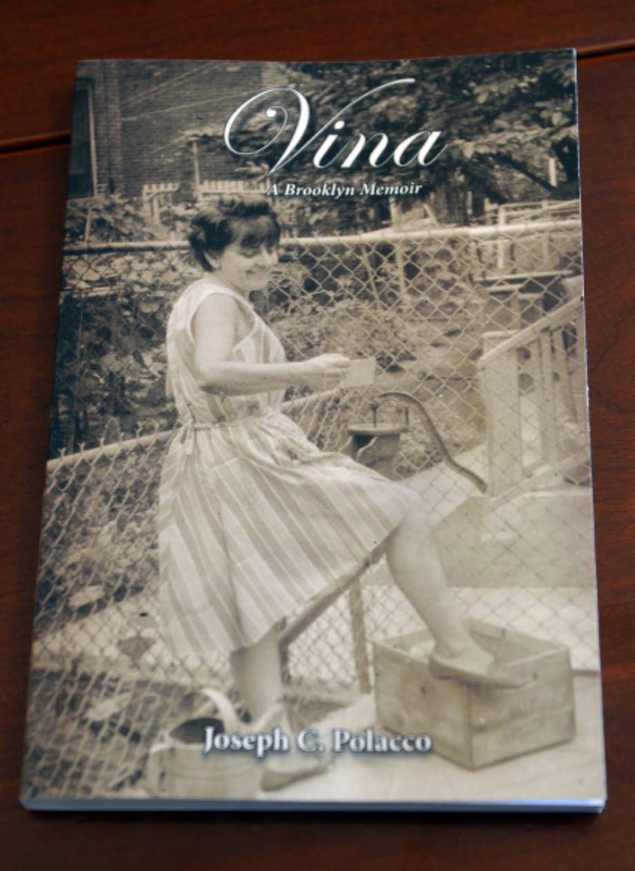 "Joe Polacco's book, ""Vina: A Brooklyn Memoir,"" was released last month by Columbia-based Compass Flower Press. Polacco will be reading an excerpt from his book at 1 p.m. on Saturday, Oct. 15, at the Daniel Boone Regional Library in Columbia."