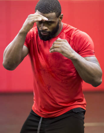 Tyron Woodley prepares for his UFC fights with a rigid training regimen. Photo courtesy of