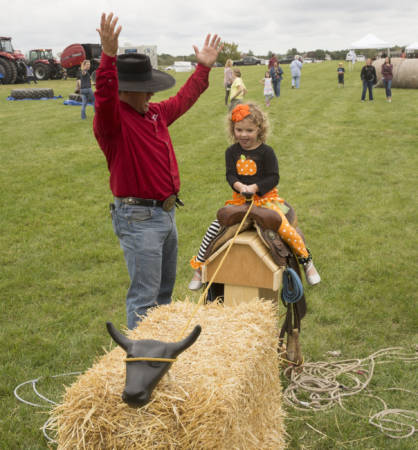 There was fun for all during the 10th South Farm Showcase.