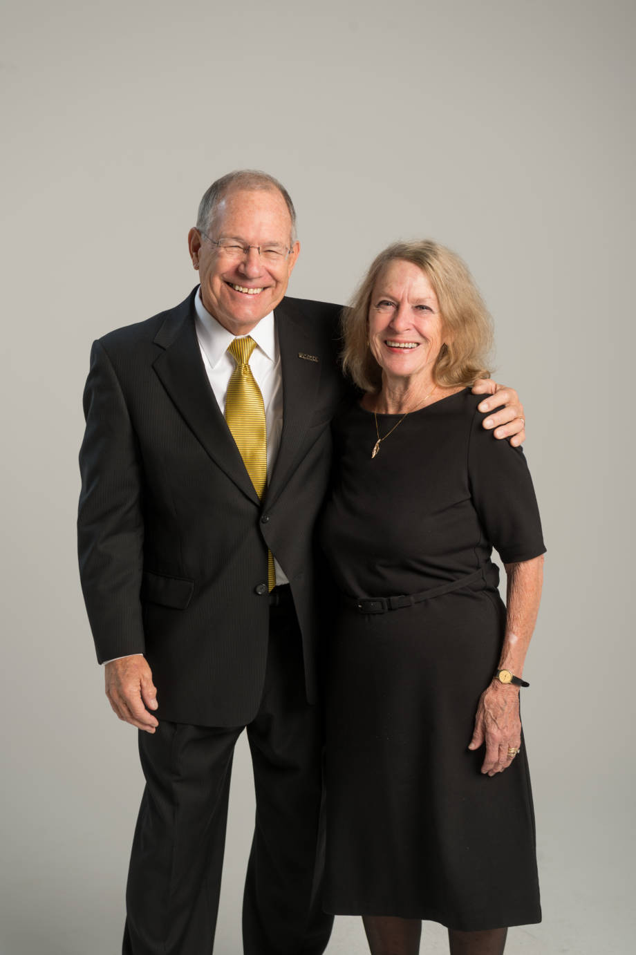 CAFNR Dean Tom Payne and his wife, Alice, have worked as a team during Tom's collective time as a either a professor or administrator at Texas A&M, Virginia Tech, Ohio State and Mizzou. Photo by L.G. Patterson.