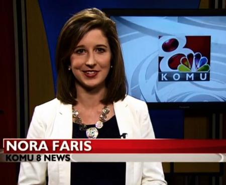 Nora Faris anchors for KOMU/NBC, Columbia.