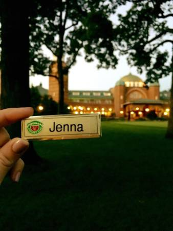 Jenna recently served as an intern at Medinah Country Club located in Medinah, Illinois