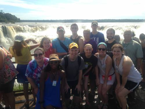 Students learned about the history of Argentine agriculture, the current economic situation in the South American country and its agricultural policies. They were also able to take in the culture, including a trip to the Iguazu Falls, the largest falls in the Americas.