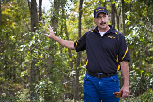 Dusty Walter is hoping that drones can be used to look at the health of forests.