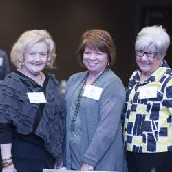 Lois Turner, Nancy Jackson and JoAnn Mohler