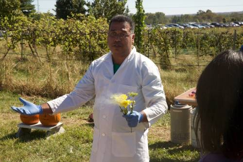 Sougata Bardhan will lead the Whiz-Bang Science Show at the Missouri Chestnut Roast on Saturday, Oct. 7.