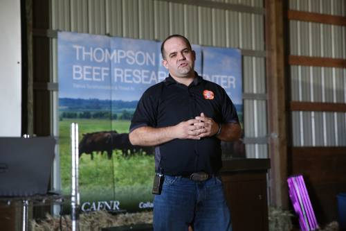 Jared Decker will be one of the featured speakers during the annual Thompson Research Center field day.