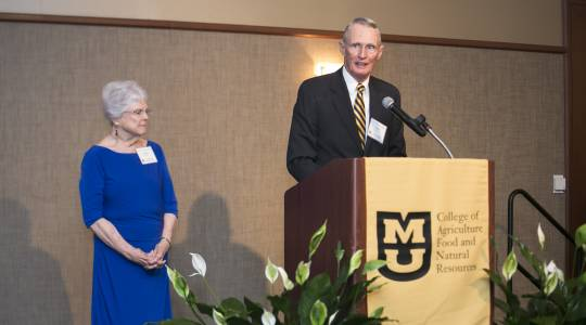 'A Life-Long Dedication to CAFNR andMizzou' (click to read)