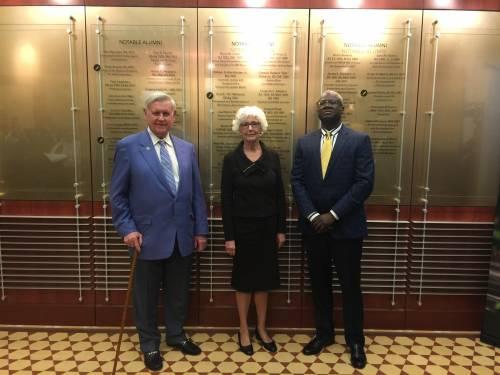Notable Alumni honorees: Al McQuinn, Ann Covington and James White.
