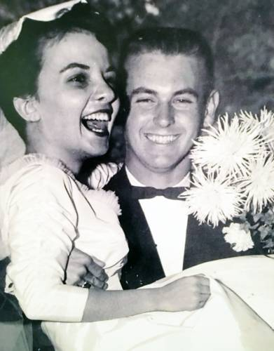 Al and Mary Agnes on their wedding day.