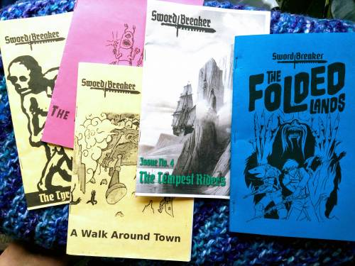 Zines are a form of magazine, generally a self-published work by a fan. Howard wrote several zines growing up -- and was reintroduced to them when he began working at the University of Missouri Bookstore.