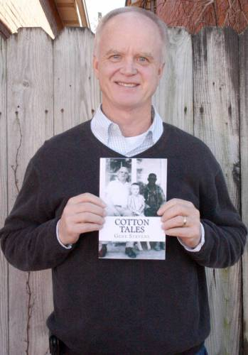 "Gene Stevens' book, ""Cotton Tales"" is available on Amazon and in the Portageville library. Photo courtesy of Scott Seal, general manager, Portageville Missourian-News."
