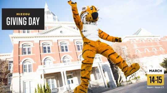 One Day. One Goal. Make MizzouStronger. (click to read)