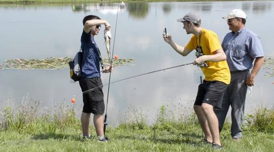 Family Fun Fishing Nights at Jefferson Farm andGarden (click to read)