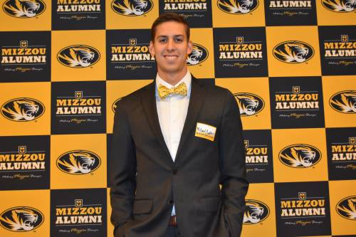 Michael Chadwick. Photo courtesy of the Mizzou Alumni Association.