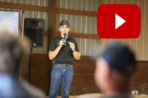 Thomas has taken advantage of the CAFNR Agricultural Research Centers across the state. Click the photo to see how Thomas has conducted research at several of those Research Centers during his time at MU. Video by Jacob Shipley.