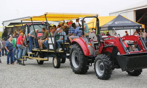 Reinbott said the Research Centers have used the equipment for educational purposes as well. The tractors are used during the annual field days and agriculture education days, pulling trailers of producers and students.