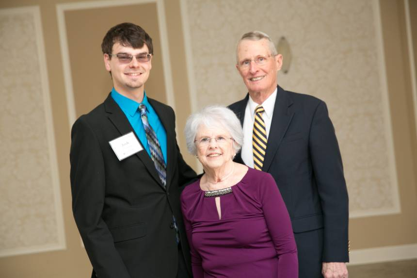 Josh Ebbesmeyer, Chuck and Ina Rae Brazeale