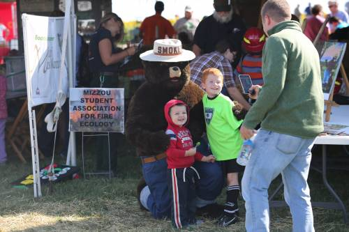 Several of the booths from past years will return in 2018, too. There will be an opportunity to milk a cow, see falcon training, walk through a native butterfly house, explore a corn maze and go fishing. The MU Equine Teaching Facility, located between South Farm and Jefferson, will have several activities as well.