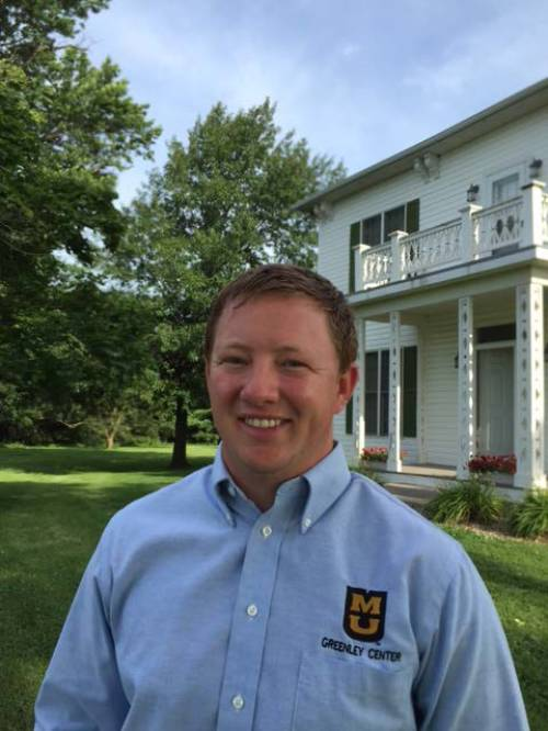 After earning his bachelor's degree, Caldwell decided to continue his education at MU. He started working on his master's with Kelly Nelson, a research agronomist at the Greenley Research Center. His research focused on looking at new technology and how it compared to traditional practices in the field.