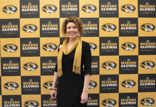 CAFNR doctoral candidate in agricultural education and leadership, Rebecca Mott, was recently selected as a recipient of the Mizzou 18 award. Photo courtesy of the Mizzou Alumni Association.