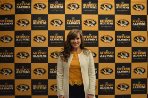 Brooke Novinger, a senior studying biochemistry, was recently named a recipient of the Mizzou '39 award. Photo courtesy of the Mizzou Alumni Association.