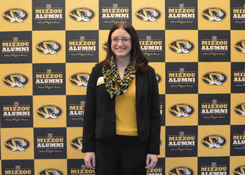 Rachel Owen, Ph.D. candidate in natural resources, was selected as one of the Mizzou 18 recipients. Photo courtesy of the Mizzou Alumni Association.