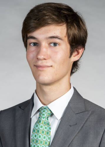 Sage Eichenburch, 2019 winner of the Hesburgh Scholarship. Photo courtesty of Sage Eichenburch.
