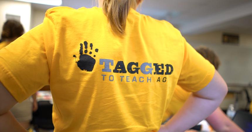Tagged to Teach Ag