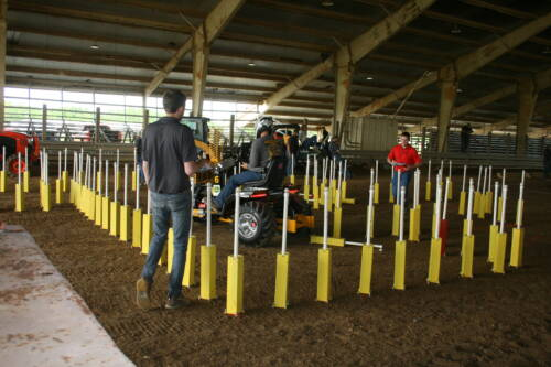 Maneuverability competition