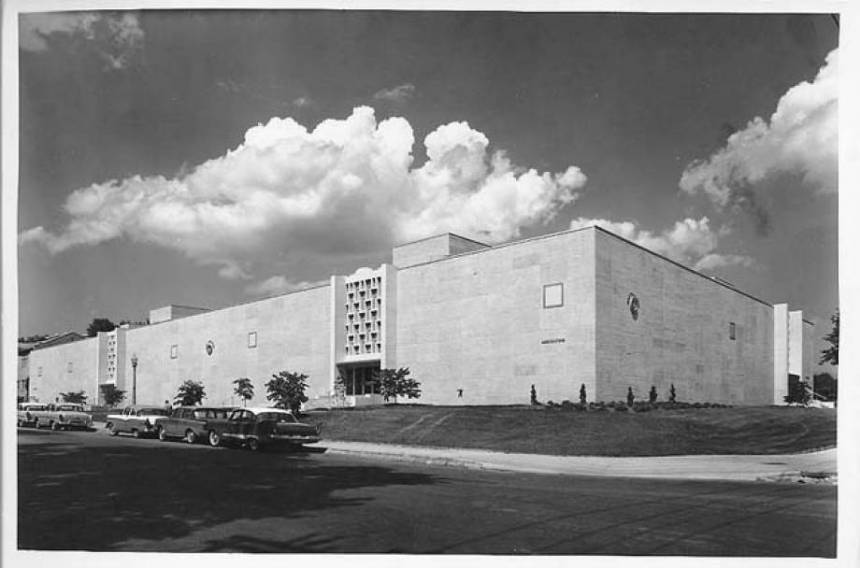 Ag Building in 1961