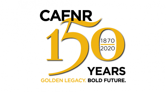 Celebrate CAFNR's 150thAnniversary (click to read)