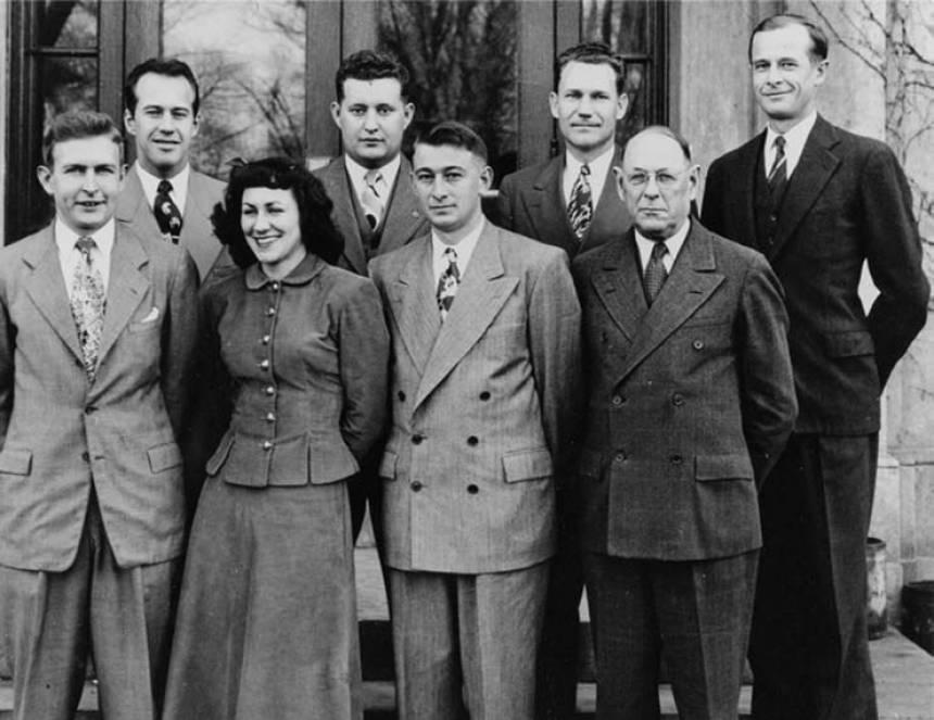 1948 livestock judging team