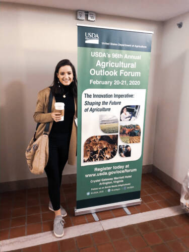 The week-long Future Leaders Program concluded with USDA's largest annual meeting, the Agricultural Outlook Forum, which provides an overview of all areas of agriculture, both foreign and domestic. This year's program took place Feb. 17-21.