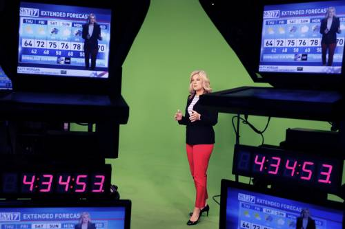 Morgan has been at FOX 17 for the past six years. She spent time in Kansas, South Carolina and Ohio before she moved to Nashville. Photo courtesy of Katy Morgan.