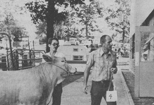 Cole said that early on in his career, the beef industry needed to make some drastic changes in the kind of cattle they were producing. Cole credited G.B. Thompson for making him think more modern, especially while Cole was on the livestock judging team. Photo courtesy of Eldon Cole.