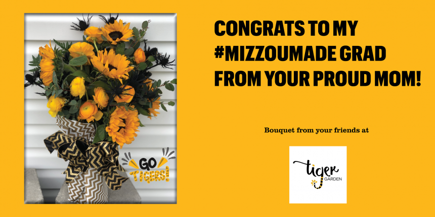 Congrats to my #MizzouMade grad from your proud mom!