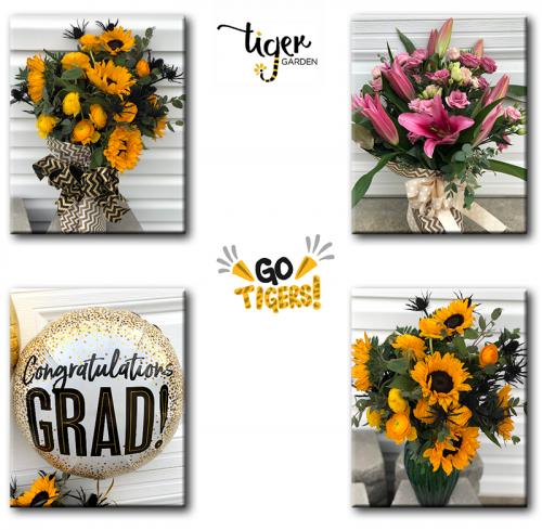 Tiger Garden bouquets