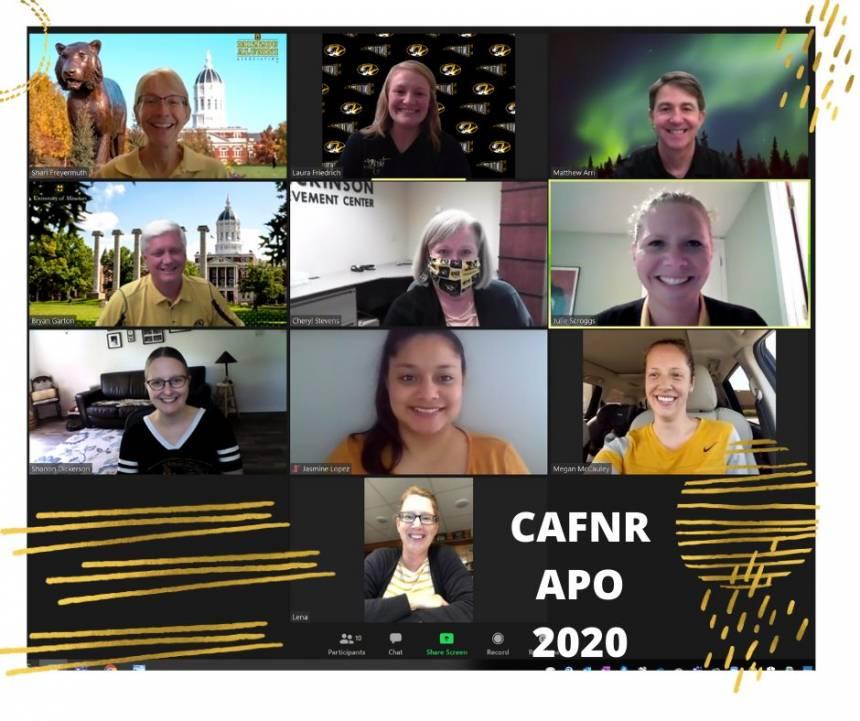 CAFNR APO - 2020