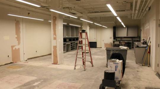 Renovations Underway for Learning Lab andClassroom (click to read)