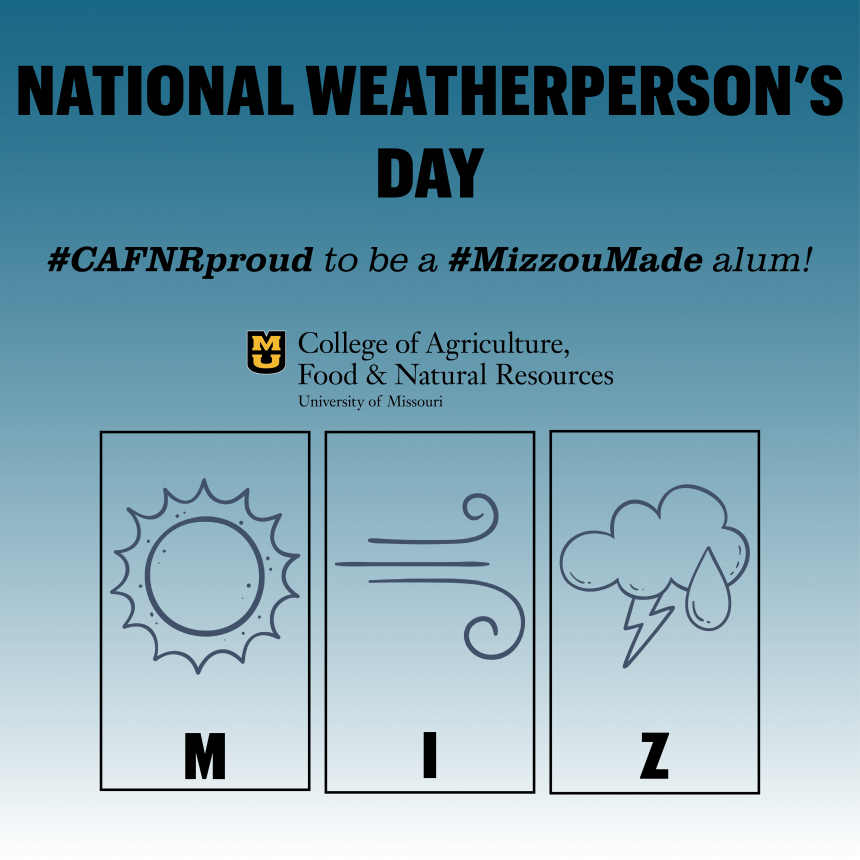 National Weatherperson's Day