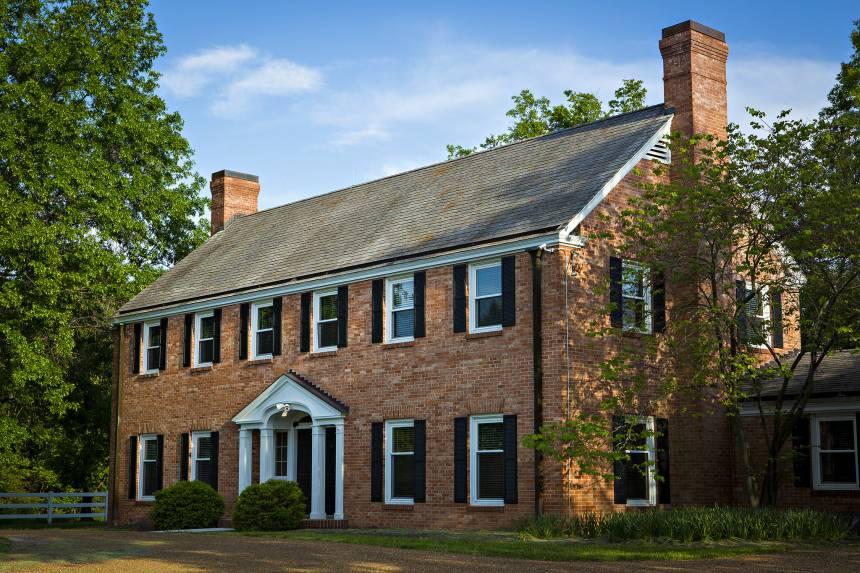 Sorenson Estate, a brick mansion