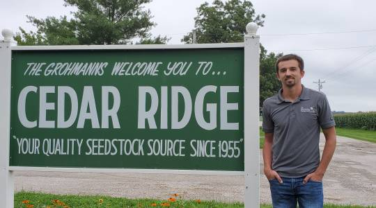 Caleb Grohmann Selected for the Future Leaders for Food and Agriculture (FFAR)Fellowship (click to read)
